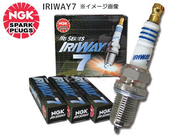 ホンダ ストリーム RN3 RN4 NGK 高熱価プラグ IRIWAY7 4558 1本
