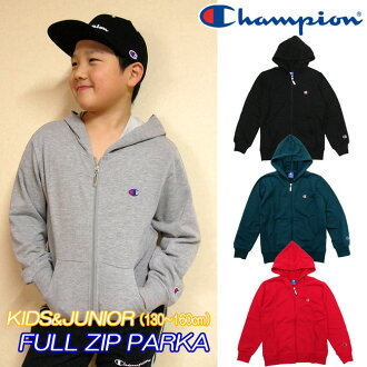 Arrival at the champion [kids & youth] sweat shirt full zip parka [130-160cm] champion/ZIP food jacket / zip up trainer / back terry / sweat shirt / wet /CX7102/CX6720/CX6988/ house coat /s / dance