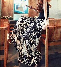 【限定価格】スカンツ スカーチョ ガウチョパンツ ロングパンツ ロング丈スカート風 ワイドパンツ フレア レディース ガウチョ 柄 花柄 フラワー 春夏 メール便送料無料 (アパレル)