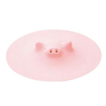 【メール便配送可能】ぶたのおとしぶた K-092P ピンク【落し蓋】【おとし蓋】【シリコンゴム】【シリコン】【業務用鍋蓋】【業務用】【ポイント消化】