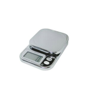 コンパクトスケール 2kg クローム KS-209CR【デジタルはかり】【デジタルスケール】【秤】【製菓】【パン作り】