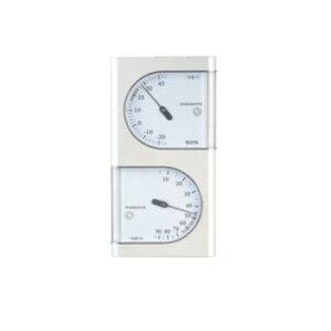 温湿度計 パールホワイト TT-518 PR【TANITA】【乾湿球湿度計】【温度計】【湿度計】【thermometer】【計量器】
