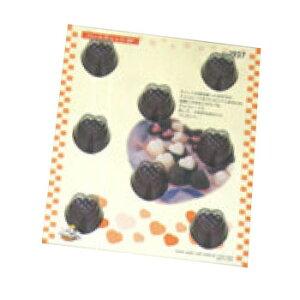 【メール便配送可能】チョコレートモールド ハートチェック No.1927【業務用】【チョコ抜型】【チョコモールド】
