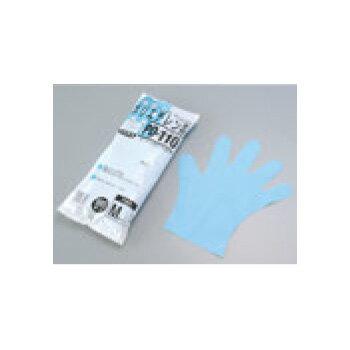 ダンロップ ポリエチレン手袋(100枚入)PD-110 ブルー S【使い捨て手袋】【ビニール手袋】【ポリ手袋】