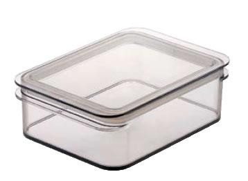 テンガ 保存容器 レクタングル P-4 ブラウン 【密閉容器】【業務用保存容器】【TENGA】【DESUS】【業務用厨房機器厨房用品専門店】