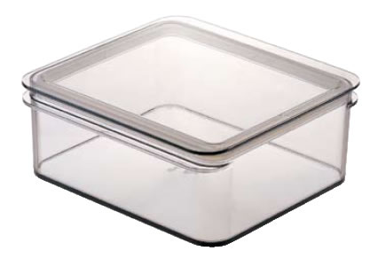 テンガ 保存容器 レクタングル P-5 ブラウン 【密閉容器】【業務用保存容器】【TENGA】【DESUS】【業務用厨房機器厨房用品専門店】