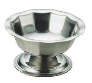 (T) 18-8アイスカップ No.223 大【ステンレス】【シャーベットカップ】【業務用厨房機器厨房用品専門店】