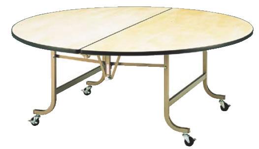 フライト 円テーブル FRS1800【代引き不可】【会議室テーブル】【食堂用テーブル】【会議テーブル】【折りたたみ式】【業務用厨房機器厨房用品専門店】