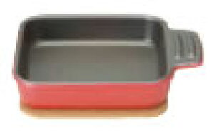ベイクドプラスオーブントースタープレート シングルプレート レッド【ラザニアローストディッシュ】【グラタン皿】【業務用厨房機器厨房用品専門店】