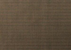 Col.5 オリーブ&ホワイトストライプ エレガントマット ノーマル【ランチョンマット】【ランチョマット】【ランチマット】【エレガントマット】【B-14-77】