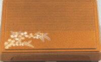 尺1寸千筋箱膳用仕切のみ 朱天黒唐草【松花堂】【弁当箱】【幕の内弁当】【宴会弁当】【松花堂弁当】【膳】【宴会に】【1-348-3】