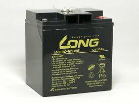 LONG 耐久性1.5倍 期待寿命3〜5年 12V30Ah高性能シールドバッテリー WP30-12TNE 高サイクル 完全密封型鉛蓄電池 電動リール・セニアカー・モーター系に最適 送料無料
