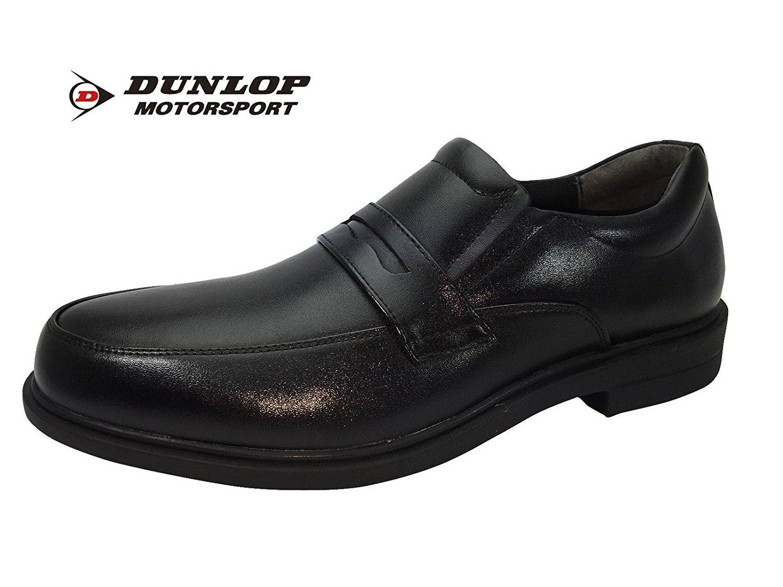 【DL353】【DUNLOP】【ダンロップ】【送料無料】幅広4E設計でゆったりとした履き心地☆本革カジュアルシューズ☆驚異の屈曲性牛革紳士靴