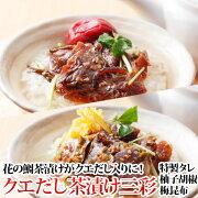長崎よか魚花の鯛茶漬け鯛茶漬け活かし真鯛柚子胡椒梅昆布三彩
