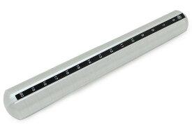 明工舎 リングゲージ棒 指輪ゲージ棒 サイズ棒 指輪 用 溝付き アルミ製 指輪のサイズ測り 6〜20号 MKS クーポン付