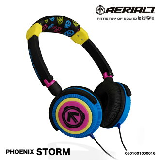 Headphone fashion fashionable ヘッドフォンエアリアル 7 PHOENIX - STORM