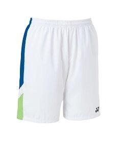 ヨネックス テニス ユニハーフパンツ ホワイト M