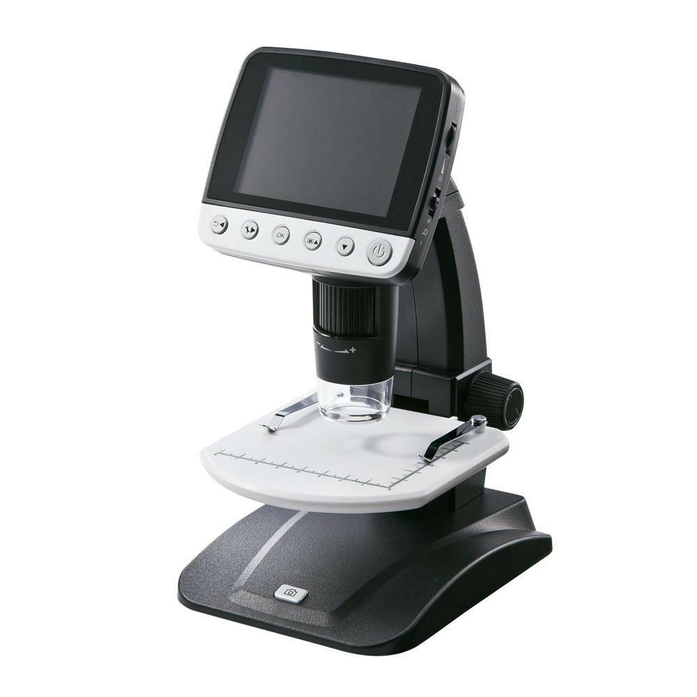 サンワサプライ デジタル顕微鏡 LPE-06BK【デジタルカメラ】