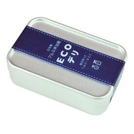 ヤマコー 日本製アルミ弁当箱 ECOデリ 深型 S 89140【食器】