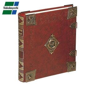 ナカバヤシ ブック式フリーアルバム グレートハイネス レッド アH-GL-1801-R【文具】