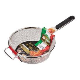 パール金属 HB-1627 セモリナ フライパンストレーナー22・24cm兼用/キッチン用品 食器 調理器具 調理 製菓道具 ざる ボール バット ざる/