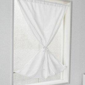 日本製 遮像・遮熱機能付き小窓用レースカーテン 70×120cm【その他インテリア】