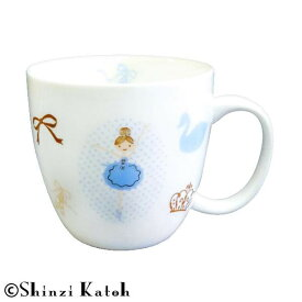 Shinzi Katoh バレリーナ マグ BL ARK-1438-1【食器】