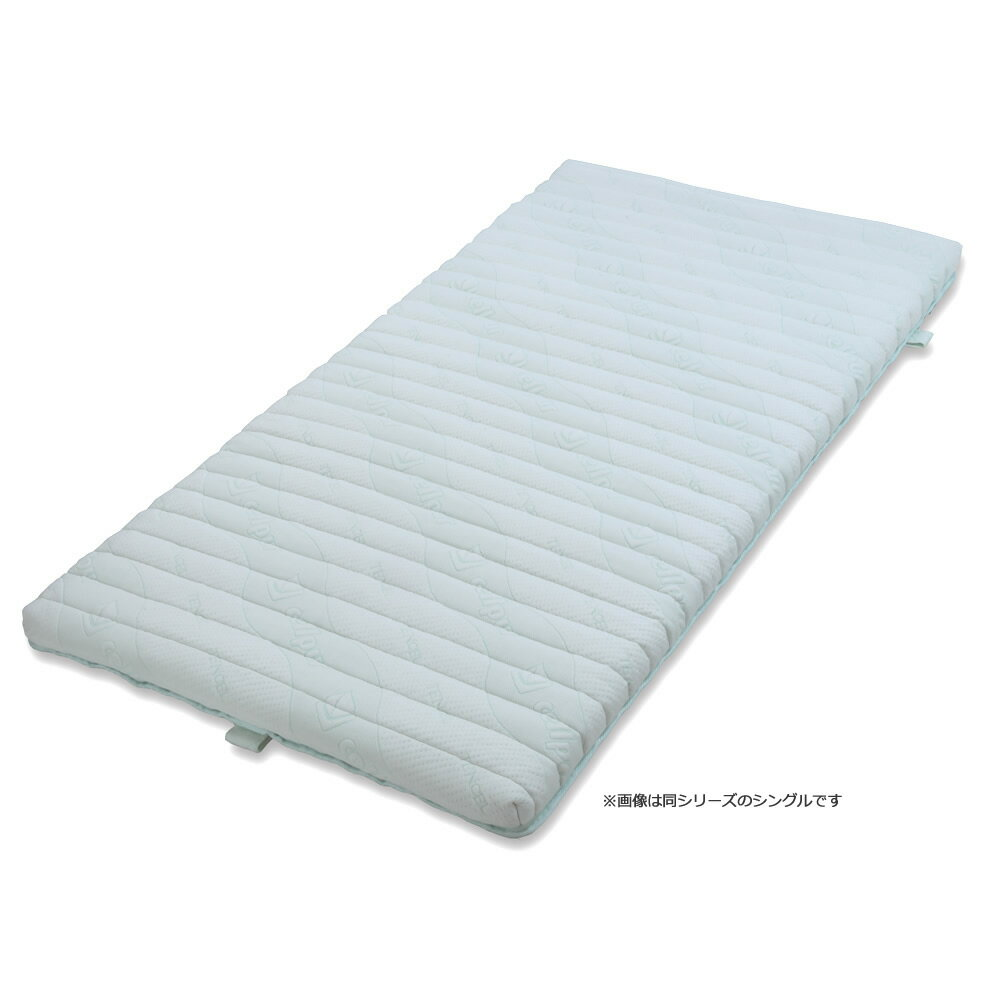 【代引き・同梱不可】cellpur セルプール NEWハイブリッドマットレスEX セミダブル(118×197×8cm)(寝装・寝具)