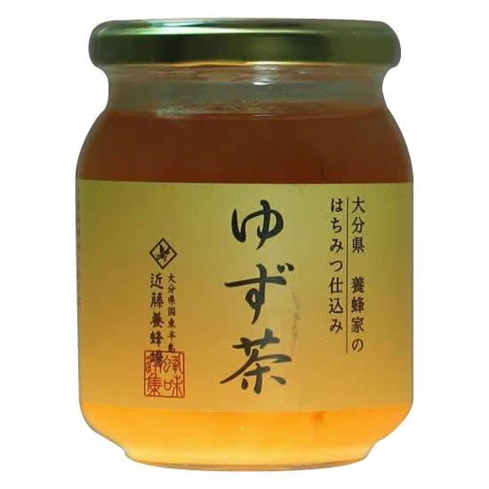 【代引き・同梱不可】近藤養蜂場 ゆず茶 250g 12個組【その他】