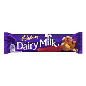 【代引き・同梱不可】キャドバリー デイリーミルクチョコレート フルーツ&ナッツ 50g×24本入り【スイーツ・お菓子】