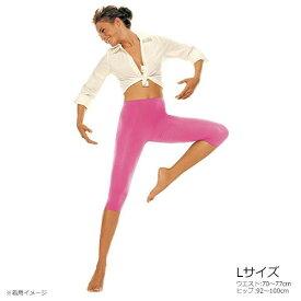 ソリディア シルバーウェーブ コルサロ ピンク Lサイズ SDSWCRPK4-L【レディース靴下・レギンス・スパッツ】