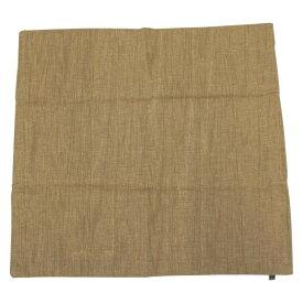 グローバルビレッジ 座布団カバー 綿素材 リブ ブラウン 57×58cm 537621【その他インテリア】