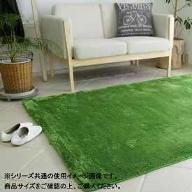 EXマイクロラグマット MS-300 クローバーグリーン Mサイズ 200×200cm【敷物・カーテン】