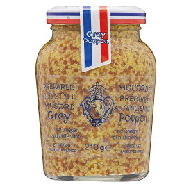 【代引き・同梱不可】Grey Poupon(グレープポン) オールドスタイル(種入り) 210g×12個セット【調味料】