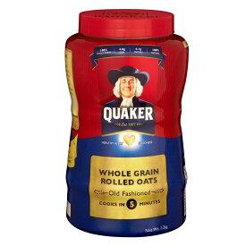 【代引き・同梱不可】QUAKER(クエーカー) オールドファッション オートミール 1200g×12個セット【米・雑穀・パン・シリアル】