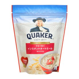 【代引き・同梱不可】QUAKER(クエーカー) インスタントオートミール オリジナル 270g×12個セット【米・雑穀・パン・シリアル】