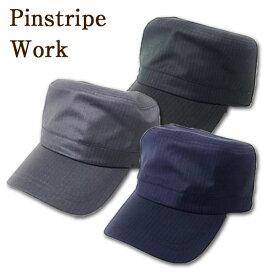 Pinstripe Work【qcl-n8588】帽子 キャップ メンズ Men's CAP 帽子 レディース キャップ 帽子 ニット