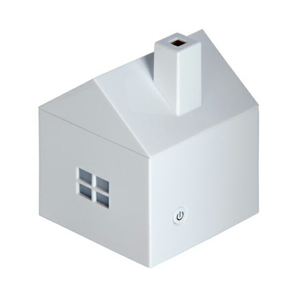 アロマディフューザー(家型)/112959/加湿器 アロマ ディフューザー シンプル インテリア かわいい 楽しめる/ss1