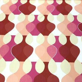 【アウトレット】Boras cotton ボロスコットン(ボラスコットン) ファブリック生地 MALAGA マラガ 9134-818 : Pink ピンク 【クリックポストでのお届け、日時指定不可】【50cm(数量5)以上からの10cm単位でのカット売り】