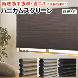 ハニカムシェード 彩 (F) ハニカムスクリーン シングルタイプ 遮光 幅151〜180cm / 丈91〜120cm以内 サイズオーダー