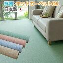 カーペット 8畳 8帖 約352×352cm 八畳 絨毯 ペットも安心 激安じゅうたん 床暖対応 サイズカット 抗菌加工 ホットカーペットカバー サイズ加工可能 フリーカット リビング 子供部屋 床暖