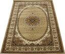 ウイルトン絨毯 トルコ製カーペット 輸入カーペット 約160×230cm ベージュ カーベラ1934 (Y) 【あす楽対応】