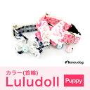 【犬・カラー・首輪】 ラメICHIMATUカラー パピー 首輪 Luludoll(ルルドール) DK184 【日本製】 ドッグウェア キャ…