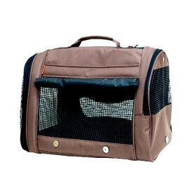 バックパックキャリー ブラウン ショルダー 犬 猫 ペット用品 OFT