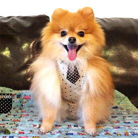 水玉ネクタイケアお洋服 Luludoll(ルルドール ) DE504 ドッグウエア トイプードル・ダックス・チワワ・ ヨーキー 小型犬