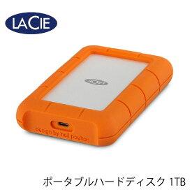 60【リファビッシュ】LaCie Rugged Mini USB-C Portable Drive 1TB STFR1000800 ポータブル