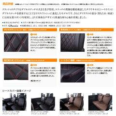 ダイヤデザインBioPVC高反発スポンジクッションダブルステッチ