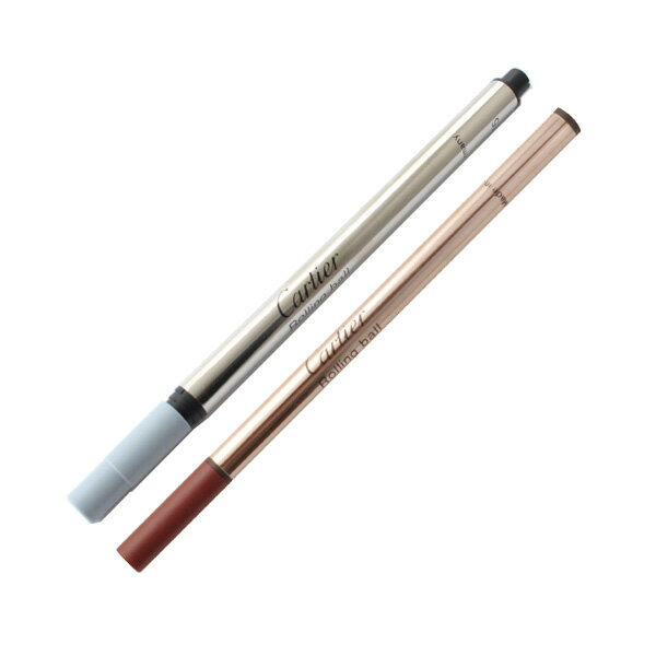 カルティエ CARTIER 消耗品 ローラーボール替芯 ブラック VXRR0211/VXRR0411