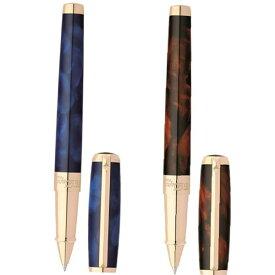 エス・テー・デュポン S.T.Dupont アトリエ・コレクション ローラーボール ブルー/ブラウン 412698/412699