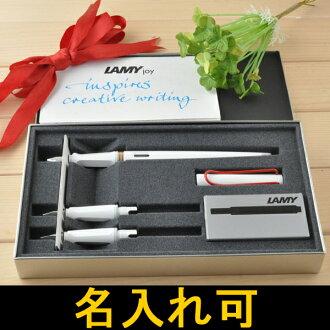라미 LAMY 정품 조이 joy 서체 세트 화이트 레드 클립 L15SETW